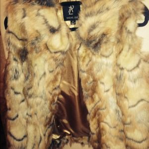 Faux Fur vest by Rachel Zoe!