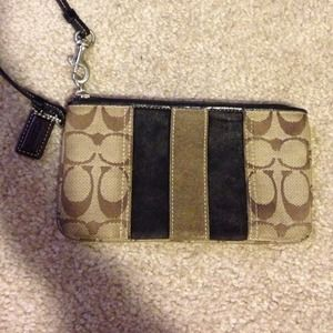 Coach Clutches & Wallets - Coach Wristlet Purse