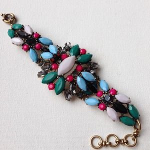 Technicolor statement bracelet multicolor SALE