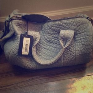 Alexander Wang Large Gray Satchel with strap