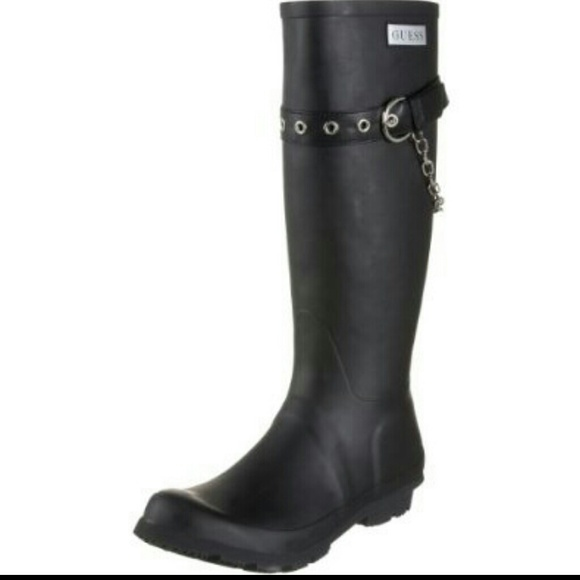 Guess Shoes | Imlay Chained Rain Boots
