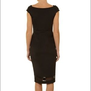 Dorothy Perkins Dresses - Dorothy Perkins Black Bardot Cocktail Sheer Dress 2