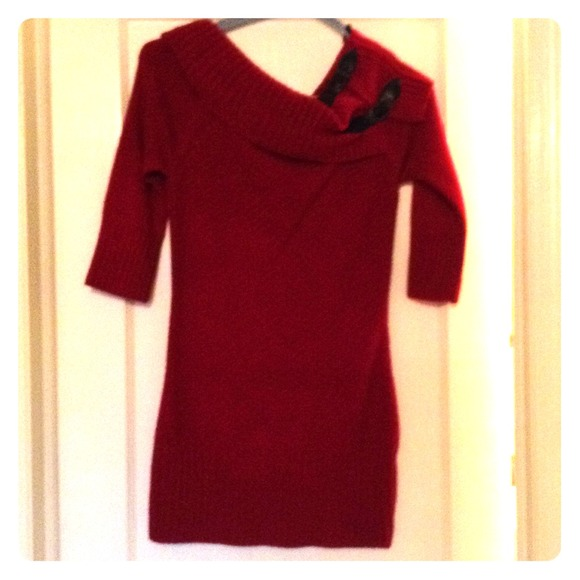 43% off Candies by Kohl's Dresses & Skirts - Red sweater dress ...