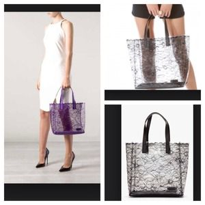 Host pick! Sale!! Medium lace tote Marc Jacobs!