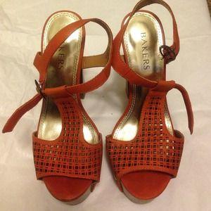 Baker summer heel