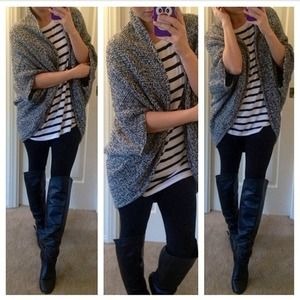 Zara Sweaters - Zara Wrap Around Cardigan