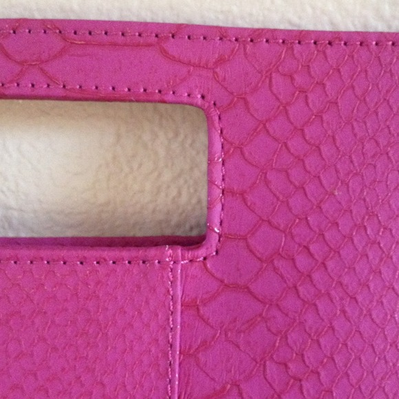 Clutches & Wallets - NWOT! Magenta oversized clutch 2