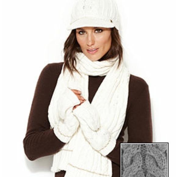 NWT Calvin Klein  Cabbie  Knit Hat (Grey) da539c16c70