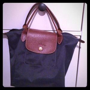 Blue authentic longchamp bag !
