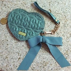 Cute Mint Heart Wristlet by Deux Lux 💚