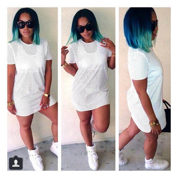 4f96c87a000 sorella boutique Dresses | Mesh Jersey Dress Shirt From | Poshmark