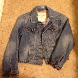 Abercrombie & Fitch blue jean jacket - size S