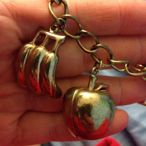 Jewelry - And Mary fruit charm bracelet