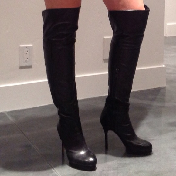 72% off BCBGMaxAzria Boots - Reduced! BCBG over the knee boots ...