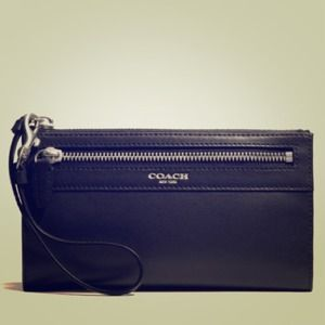 Coach Leather Legacy Zippy Wallet