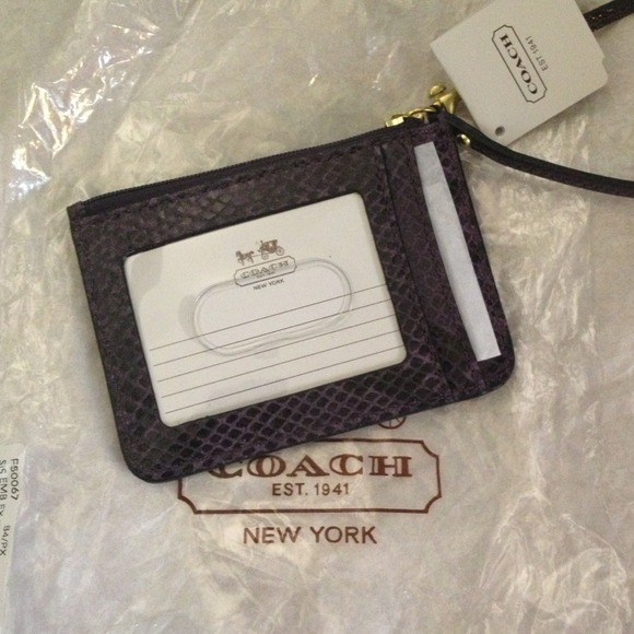 coach coin purse outlet nd3c  coach skinny id wallet