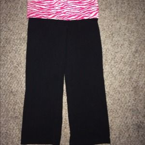 c8e02fb0f9340 🚫SOLD ON VINTED VS love pink yoga cropped pants💕