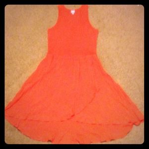 Coral/ Orange/ Melon Color Dress