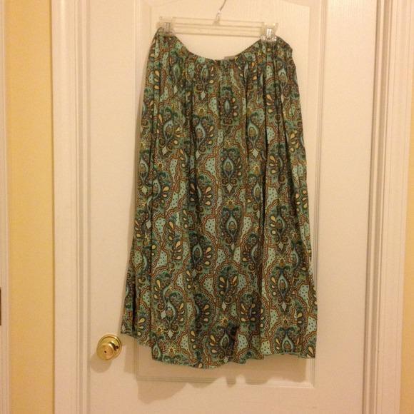 Caslon Dresses & Skirts - Summer weight broom skirt