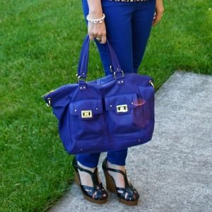 Olivia + Joy Handbags - 🎉🎈🎉 Host Pick!! Olivia + Joy Purple Tote