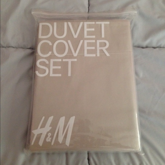 Hm Other Fullqueen Beige Duvet Set From Hm Poshmark