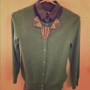 J. Crew Sweaters - J.Crew 100% cashmere sea foam green sweater