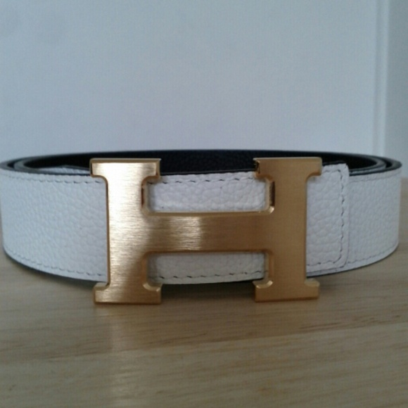 cd32cf9fec2 ... aliexpress leather hermes belt reversible. black white 3217b 514cf