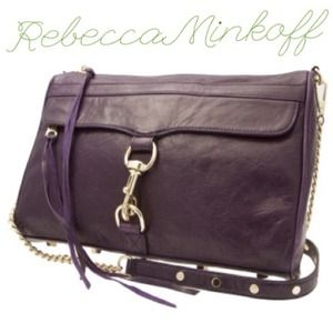 Rebecca Minkoff Handbags - Rebecca Minkoff MAC Daddy in Grape!