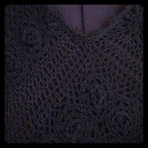 Karen Millen crocheted dress