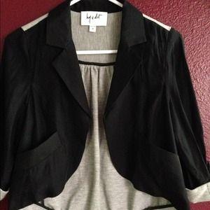 Jackets & Blazers - 🎀 Hy & Dot Lightweight Asymetrical Jacket