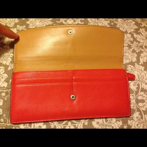 Coach Bags - • Coach Slim Wallet •