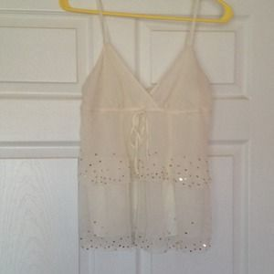 Old navy ivory top size XS