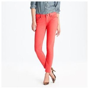 J.Crew ankle toothpick skinny jeans