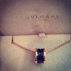BVLGARI B.ZERO1 Pendant in Rose Gold