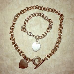 Authentic Tiffany & Co. Heart Tag Necklace