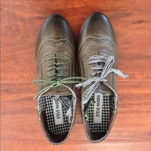 NWOT Steve Madden leather oxfords