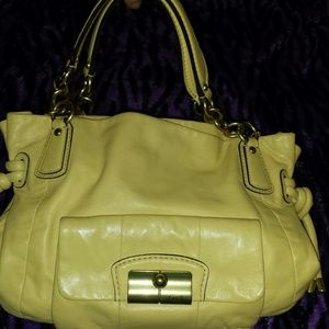 Kristin Coach bag satchel 100% authentic