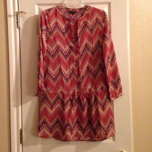Dresses & Skirts - Drop waist aztec southwestern printed dress