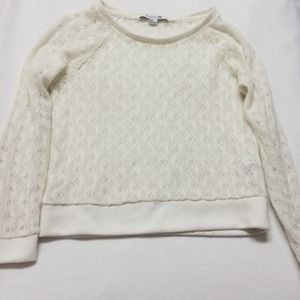 Forever 21 Sweaters - FOREVER 21 💗 CREAM KNIT SWEATER