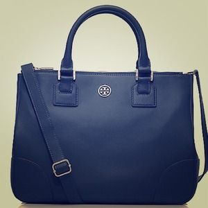 Tory Burch Handbags - Tory Burch Saffiano Double Zip Tote
