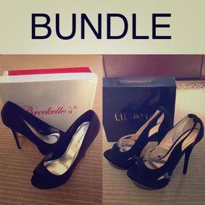 Shoes - Bundle 2 pairs of heels
