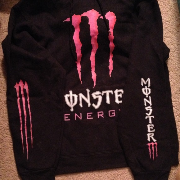tops monster energy sweatshirt size small poshmark. Black Bedroom Furniture Sets. Home Design Ideas