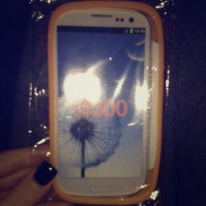 Samsung galaxy S3 gel case .