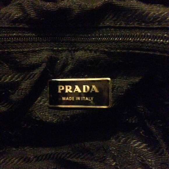 prada graphite bag - 35% off Prada Handbags - ??%?   AUTHENTIC PRADA Milano nylon ...