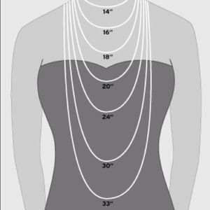 Other - Necklace lengths Chart