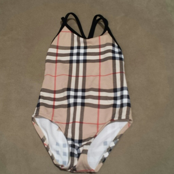 burberry baby swim trunks