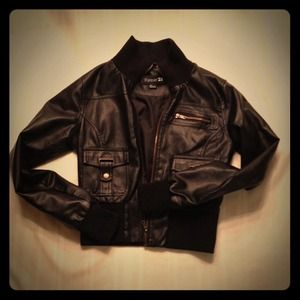 Black Moto Jacket. Price Reduced!!!