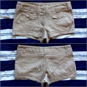 Ambiance Apparel Denim - Ambiance Apparel Khaki Shorts