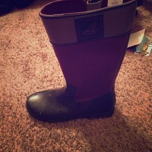 Sperry Top-sider rain boots