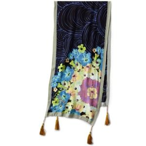 Desigual  Printed Scarf in Navy